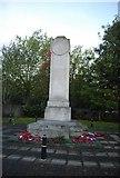 TQ7668 : War memorial, Mill Rd, Gillingham by N Chadwick