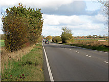 TM1888 : The A140 road past Colegate by Evelyn Simak