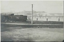 TR3140 : View from train window, Dover in 1927 by Helen Ewing