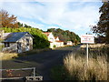 NT5579 : Rural East Lothian : East Fortune Hospital - the main street by Richard West