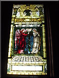 SE7170 : Stained glass inside the chapel at Castle Howard, 1 of 3 by hayley green