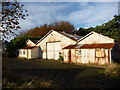 NT5579 : East Lothian Architecture : Corrugated Iron at East Fortune Hospital by Richard West