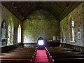 NU2229 : St Ebba Church, Beadnell, Interior by Alexander P Kapp