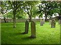 NU2229 : St Ebba Church, Beadnell, Graveyard by Alexander P Kapp