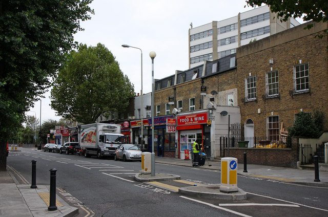 Southwark Park Road