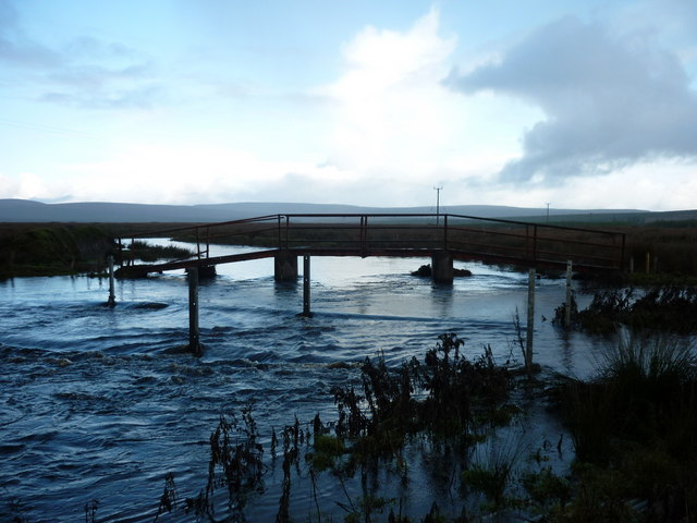 Footbridge, Crucknacolly, Co. Mayo