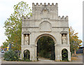 ST6171 : 2010 : Gate at Arno's Gate by Maurice Pullin