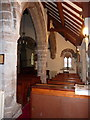 NU2415 : The Parish Church of St Peter and St Paul, Longhoughton, Interior by Alexander P Kapp