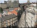 NZ2563 : Side (street) from Tyne Bridge by Colin Park