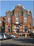 SK3950 : Ripley - Town Hall by Dave Bevis