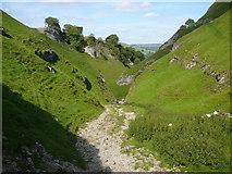 SK1482 : Descending through Cave Dale by Colin Park