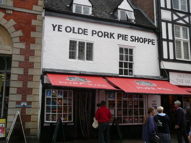 Melton Mowbray; Ye Olde Pork Pie Shoppie