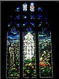 SD9772 : Stained glass window, St Mary's Church by Maigheach-gheal