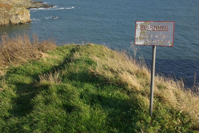 Cliffs at Newtonhill
