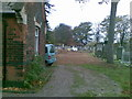 SP0892 : Prayer House, demolished, Jewish Cemetery by Alex McGregor