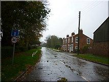 TA3719 : Church Road, Skeffling by Ian S