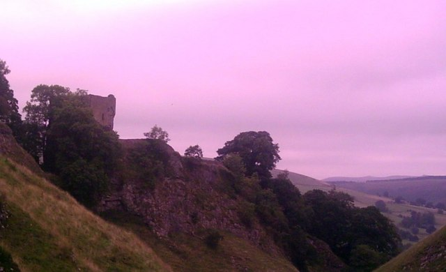 Peveril Castle and Cave Dale