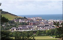 SN5981 : View towards south Aberystwyth from the National Library of Wales by Andrew King