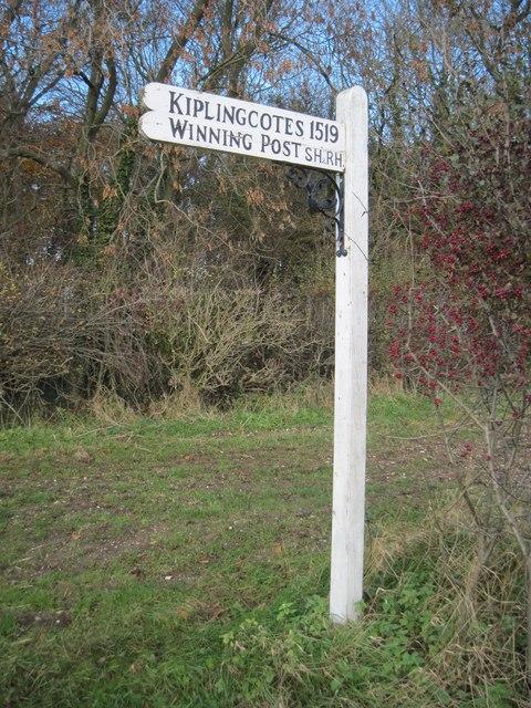 Kiplingcoates  Winning  Post