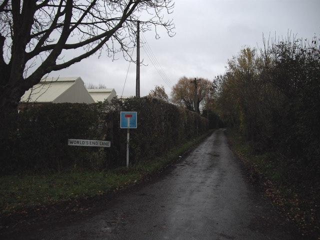 World's End Lane, Keynsham