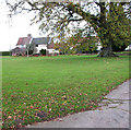 TM0986 : Short Green Farm in Short Green, Winfarthing by Evelyn Simak