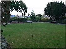 SJ0566 : Evan Pierce Memorial Garden by Eirian Evans