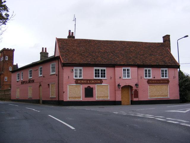 The former Horse & Groom Public House