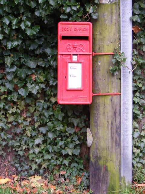 Spring Lane  George VI Postbox