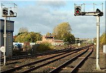 NS4238 : Kilmarnock railway station by Thomas Nugent