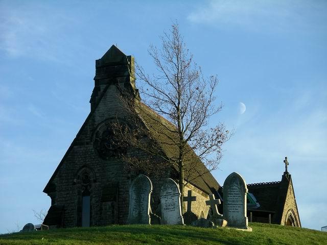 Kimberley cemetery chapel