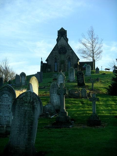 Kimberley cemetery and chapel