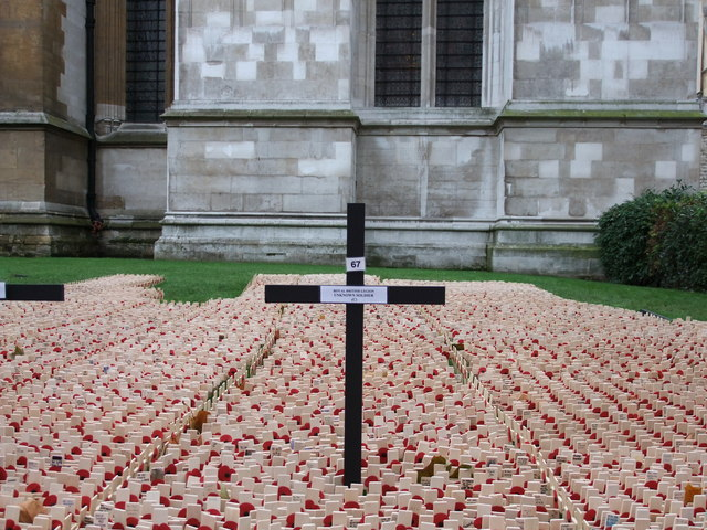 Field of Remembrance 2010 Westminster Abbey