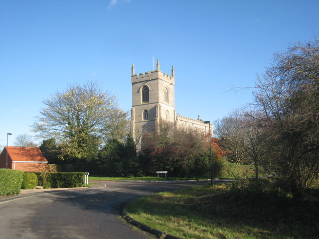 St. Nicholas, Addlethorpe from the south west