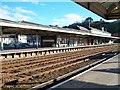 SH5771 : Bangor (Gwynedd) Railway Station by Eric Jones