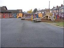 SO9596 : Holy Trinity Playground by Gordon Griffiths