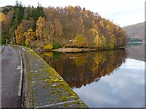 NN5207 : Glen Finglas dam wall by James Allan