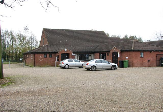 Carleton Rode village hall in Mill Road