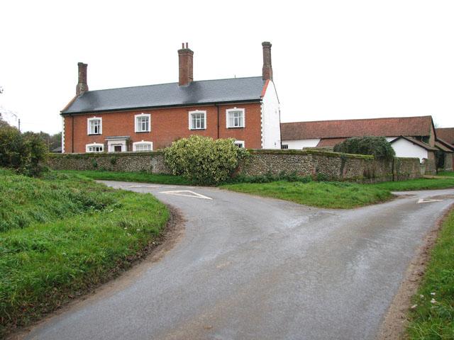 Old Hall Farm (farmhouse), Flaxlands