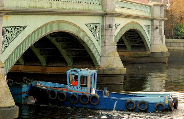 Dredging the River Lagan, Belfast -  2010/11 (58)