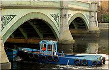 J3473 : Dredging the River Lagan, Belfast -  2010/11 (58) by Albert Bridge