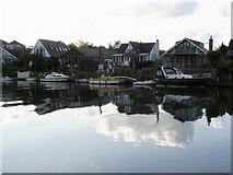 TQ1667 : Thames Ditton Island by Shaun Ferguson