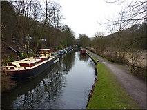 SD9926 : Mayroyd Moorings, Rochdale Canal by Alexander P Kapp
