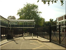 TQ2479 : Holland Park School, W8 by Phillip Perry