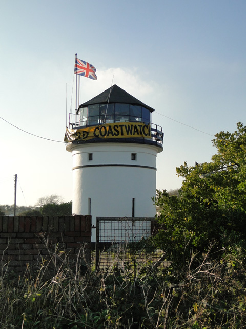 Old lighthouse on Pakefield cliffs