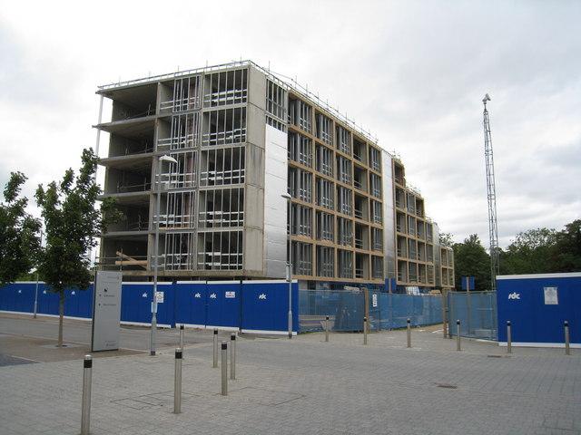 New key worker flats by Sandy B