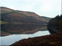 SK1887 : Reflection in the Ladybower Reservoir by Graham Hogg