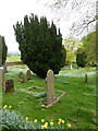 SD5399 : St Thomas' Church, Selside, Graveyard by Alexander P Kapp