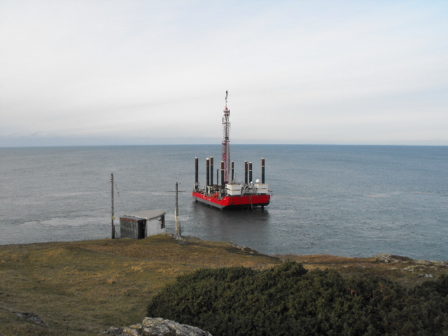 Excalibur explores the seabed off Wylfa Head