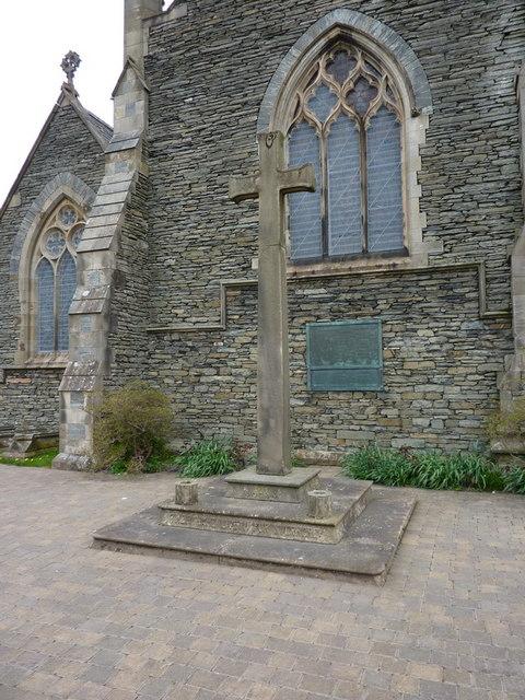 St Oswald's Church, Burneside, War Memorial