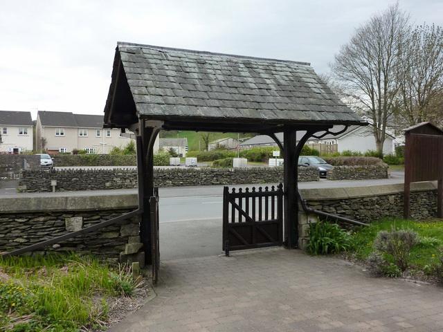 St Oswald's Church, Burnside, Lych gate